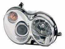 2006 - 2009 Mercedes Benz CLK350 Front Headlight Assembly Replacement Housing / Lens / Cover - Right (Passenger)