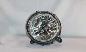 2007-2010 Jeep Patriot Headlight Assembly - Left (Driver)