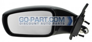 2011-2012 Hyundai Sonata Side View Mirror - Left (Driver)