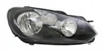 2010 - 2014 Volkswagen Jetta Front Headlight Assembly Replacement Housing / Lens / Cover - Right (Passenger)