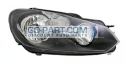 2010-2012 Volkswagen Jetta Headlight Assembly - Right (Passenger)