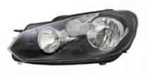 2010 - 2014 Volkswagen Jetta Front Headlight Assembly Replacement Housing / Lens / Cover - Left (Driver)