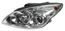 2010 - 2012 Hyundai Elantra Front Headlight Assembly Replacement Housing / Lens / Cover - Left (Driver)