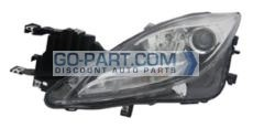 2011-2013 Mazda 6 Mazda6 Headlight Assembly - Left (Driver)