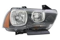 2011 - 2014 Dodge Charger Front Headlight Assembly Replacement Housing / Lens / Cover - Right (Passenger)