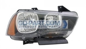 2011-2013 Dodge Charger Headlight Assembly - Right (Passenger)