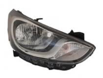 2012 - 2015 Hyundai Accent Headlight Assembly - Right (Passenger)