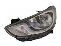 2012 - 2015 Hyundai Accent Front Headlight Assembly Replacement Housing / Lens / Cover - Left (Driver)