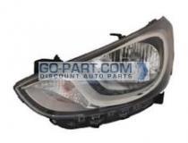 2012-2013 Hyundai Accent Headlight Assembly - Left (Driver)