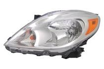 2012 - 2014 Nissan Versa Front Headlight Assembly Replacement Housing / Lens / Cover - Left (Driver)