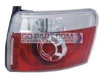 2007-2012 GMC Acadia Tail Light Rear Brake Lamp - Right (Passenger)