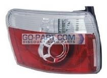 2007-2012 GMC Acadia Tail Light Rear Brake Lamp - Left (Driver)