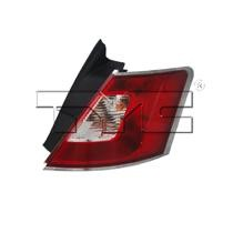 2010 - 2012 Ford Taurus Rear Tail Light Assembly Replacement / Lens / Cover - Right (Passenger)