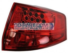 2007-2009 Acura MDX Tail Light Rear Brake Lamp - Right (Passenger)
