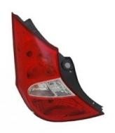2012 - 2016 Hyundai Accent Rear Tail Light Assembly Replacement / Lens / Cover - Left (Driver)