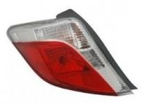 2012 - 2014 Toyota Yaris Rear Tail Light Assembly Replacement / Lens / Cover - Left (Driver)