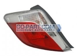 2012-2013 Toyota Yaris Tail Light Rear Brake Lamp - Left (Driver)