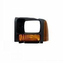 2005 Ford F-Series Super Duty Pickup Parking Light Assembly Replacement / Lens Cover - Left (Driver)
