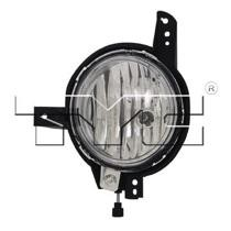 2012 - 2013 Kia Soul Fog Light Assembly Replacement Housing / Lens / Cover - Left (Driver)