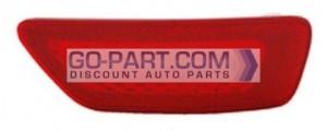 2011-2013 Jeep Grand Cherokee Rear Bumper Reflector - Left (Driver)