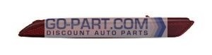 2012-2013 Honda CR-V Rear Bumper Reflector - Left (Driver)