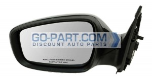 2012-2013 Hyundai Accent Side View Mirror - Left (Driver)
