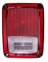 2007-2010 Jeep Wrangler Tail Light Rear Lamp - Right (Passenger)