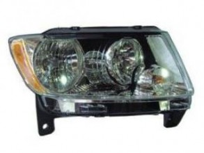 2011-2011 Jeep Grand Cherokee Headlight Assembly - Right (Passenger)