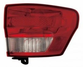 2011-2013 Jeep Grand Cherokee Tail Light Rear Lamp - Right (Passenger)