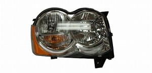 2008-2010 Jeep Grand Cherokee Headlight Assembly - Right (Passenger)