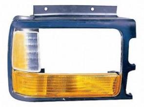 1991-1996 Dodge Dakota Headlight Bezel (with Composite Lamp / with Lens / Bright Lens) - Right (Passenger)