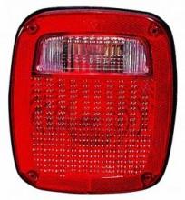 1987-1990 Jeep Wrangler Tail Light Rear Lamp - Right (Passenger)