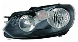 2010-2011 Volkswagen Golf Headlight Assembly - Left (Driver)