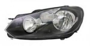 2010-2012 Volkswagen Jetta Headlight Assembly - Left (Driver)