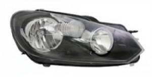 2010-2012 Volkswagen Jetta Headlight Assembly - Right (Passenger)