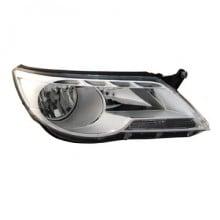 2009-2010 Volkswagen Tiguan Headlight Assembly - Left (Driver)