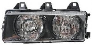 1992-1999 BMW 318i Headlight Assembly - Left (Driver)