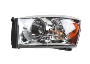 2007-2009 Dodge Ram Headlight Assembly - Left (Driver)