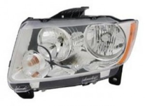 2011-2013 Jeep Compass Headlight Assembly - Left (Driver)