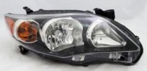 2011-2012 Toyota Corolla Headlight Assembly - Right (Passenger)