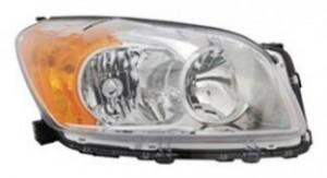 2009-2011 Toyota RAV4 Headlight Assembly (For BASE / LIMITED Models Only / USA Built) - Right (Passenger)