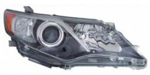 2012-2012 Toyota Camry Headlight Assembly - Right (Passenger)