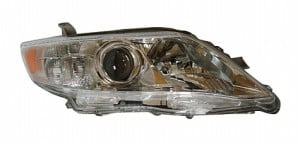 2010-2010 Toyota Camry Headlight Assembly (Japan Built) - Right (Passenger)