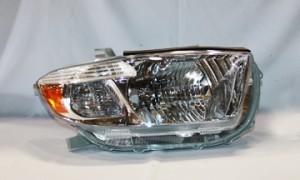2008-2010 Toyota Highlander Headlight Assembly (Base / Limited Model) - Right (Passenger)