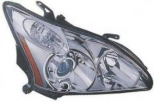 2004-2006 Lexus RX330 Headlight Assembly (HID Lamps / without Auto Adjustment) - Right (Passenger)