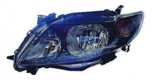 2009-2010 Toyota Corolla Headlight Assembly (S/XRS) - Left (Driver)