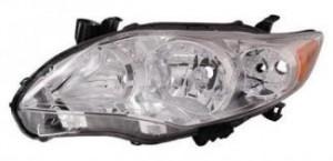 2011-2013 Toyota Corolla Headlight Assembly - Left (Driver)