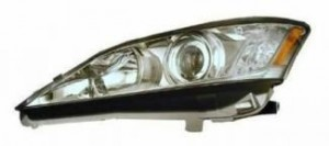 2010-2011 Lexus ES350 Headlight Assembly - Left (Driver)