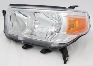 2010-2013 Toyota 4Runner Headlight Assembly (Limited / SR5) - Left (Driver)