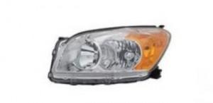 2009-2010 Toyota RAV4 Headlight Assembly (Base Limited) - Left (Driver)